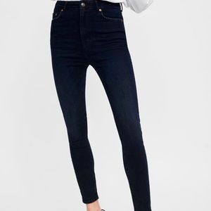 BLUE BLACK ZW PREMIUM HIGH WAIST SKINNY JEANS